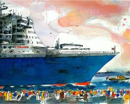 Ingrid Dingjan - Queen Mary 2