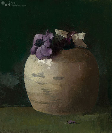 Jan Voerman - Anemonen in Gemberpotje