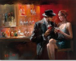 Willem Haenraets - Evening in the Bar I