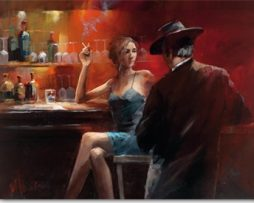 Willem Haenraets - Evening in the Bar II