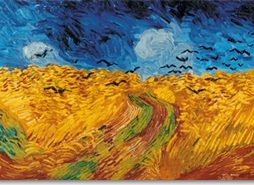 Vincent van Gogh - Wheatfield with Cows